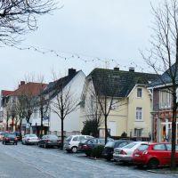 Alleestraße in Ennigerloh mit Cafè am Markt, Ауе