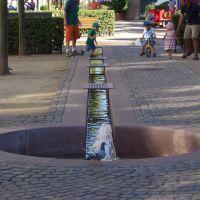 Bad Hersfeld - Breitenstrasse - Wasserspiele, Бад Херсфельд