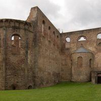 Bad Hersfeld; Reste der romanischen Stiftskirche von Osten (TR), Бад Херсфельд