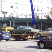 Car trade on Lloyd Street, Бремерхафен