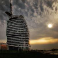 Atlantic Hotel Sail City in Bremerhaven, Бремерхафен