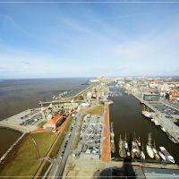 Blick vom Sail City Hotel, Бремерхафен