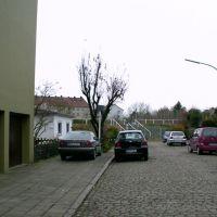 Bremerhaven-Lehe - Heinrichstraße - Blick in Richtung Zollinlandplatz, Бремерхафен
