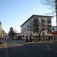Bremerhaven - Geestemünde - Bülkenstraße / Blick Richtung  Konrad-Adenauer-Platz, Бремерхафен
