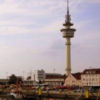 Richtfunkturm / Directional Radio Tower - Bremerhaven, Бремерхафен