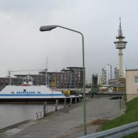 Fähre Nordenham - Bremerhaven - 04.2008, Бремерхафен