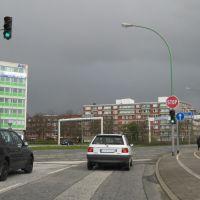 Kreuzung Columbusstraße-Elbinger Platz - Bremerhaven - 04.2008, Бремерхафен