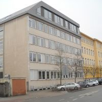 Augustinus-Gymnasium mit neuem Dach, Вайден