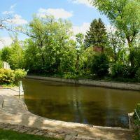 Flutkanal im Max-Reger-Park, Вайден