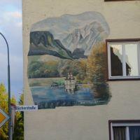 Wandbild auf Blücherstraße, Вайден
