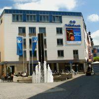 Moderne Brunnen in Macerate Platz, Вайден