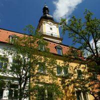 Der Kirchturm des St. Michael, Вайден