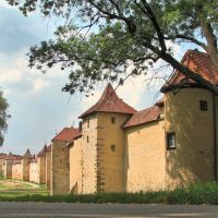 An der Schießgrabenmauer in Weißenburg (1), Вайсенбург