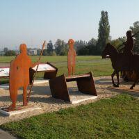 Schaukästen bei Kastell Weissenburg, Вайсенбург