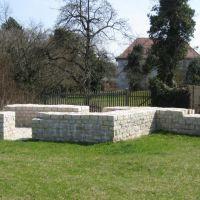 Römisches Kastell Biriciana - Südosteckturm (04/2009), Вайсенбург
