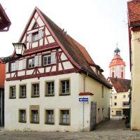 Weißenburg in Bayern - Schmale Gasse, Вайсенбург