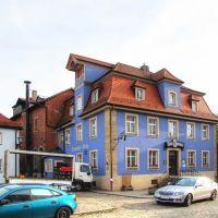 """Weißenburg in Bayern - Bräustüberl """"Zur Kanne"""" ehem. Tuchmacherhaus seit 1890 Wirtshaus, Вайсенбург"""