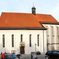 Weißenburg in Bayern - Karmeliterkirche um 1350 errichtet, Вайсенбург