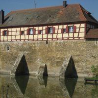 Weißenburg - Stadtmauer, Вайсенбург