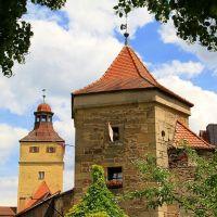 Pulverturm und Ellinger Tor, Вайсенбург