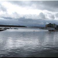 Dunkle Wolken über dem Müritzsee, Варен