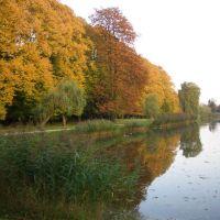 Stadtgraben im Herbstgewand, Гарделеген