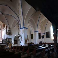 Marienkirche von innen Süd-Ostseite, Гарделеген