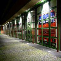 Ausfahrttore der BF Göttingen bei Nacht, Геттинген