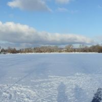 Wintertag am Kiessee, Геттинген