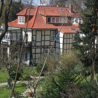 Göttingen - Haus am Wall, Геттинген