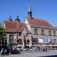 Weender Str. Altes Rathaus mit Gänseliesel, Геттинген