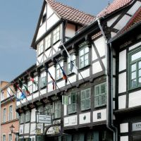 Göttingen, Hist. Gasthaus Zum Schwarzen Bären, Геттинген