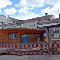 Ex - Check Point von Mike Mendoza vor dem zuHOUSE.Club - Alte Thier Brauerei Abbruch, Дортмунд