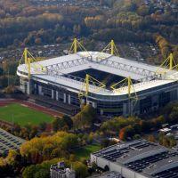 Borussia Dortmund, Stadion im Herbst, Дортмунд