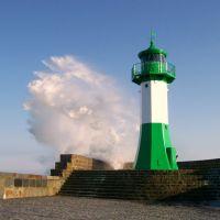 Sassnitzer Mole, Leuchtturm, Засниц