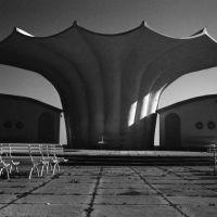 Strandmuschel aus Beton, Shell in Concrete, Sassnitz, Rügen, Засниц