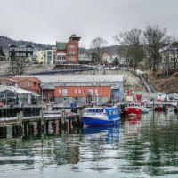 Hafen von Sassnitz - HDR (simuliert), Засниц
