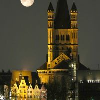 Moon over Cologne-Honorable Mention-Mai 2009, Кельн