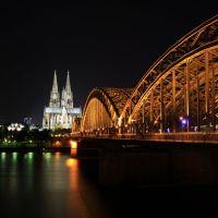 Kölner Dom bei Nacht, Кельн