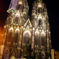 Catedral de Colonia de noche - Köln Cathedral at night (dedicada a Esther_mallorca), Кельн