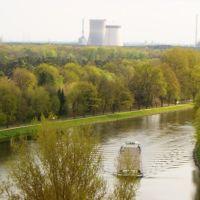 Dortmund Ems Kanal Nähe alter Hafen Lingen Emsland Niedersachsen 2008, Линген