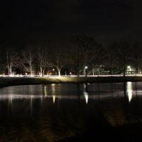Dortmund Ems Kanal in Lingen bei Nacht, Линген