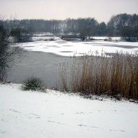 Telgenkamp See Lingen im Winter, Линген