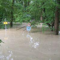 Hochwasser Aug. 2005, Мюльдорф