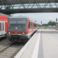 BR 628 aus Simbach nach Simbach, Мюльдорф
