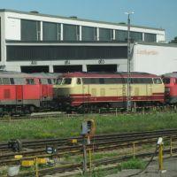 BR 217 in TEE- Lackierung, Мюльдорф