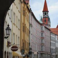 burgstrasse alter hof, Мюнхен