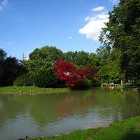 München, Englischer Garten, beim Japanischen Teehaus, Мюнхен