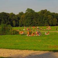 GER Muenchen Englischer Garten (Monopteros) [Naturist Area] Panorama by KWOT, Мюнхен