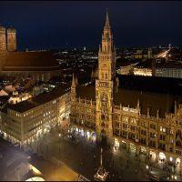 Blick vom alten Peter, Мюнхен